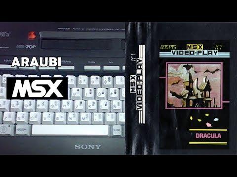 Dracula (GTS, 1986) MSX [367] Walkthrough Comentado