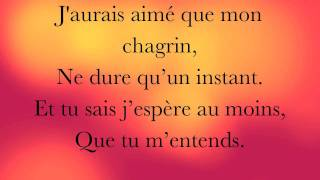 Grégoire : Ta main - Lyrics