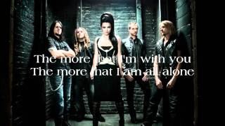 Evanescence_The Change (with lyrics on screen)