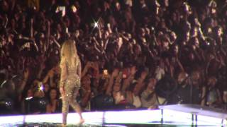 Beyoncé Halo live in Brussels, Formation Tour