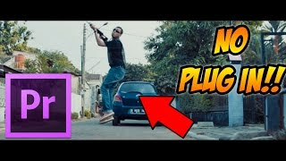 How to Smooth Slow Motion, 30 fps to 60 fps, WITHOUT PLUG IN!! - Premiere Pro TUTORIAL width=