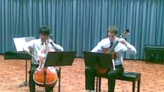 "Adeus - Shohei & Nelson concert (part 4) - ""Cantabile in D Major, Op.17"" by Niccolò Paganini"