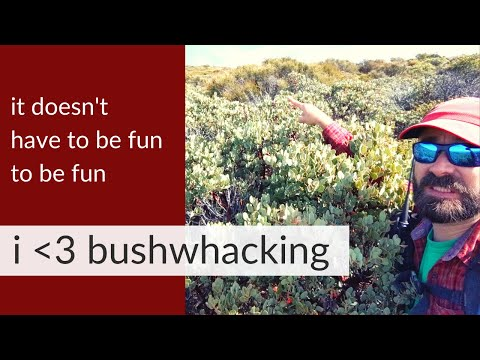 Bushwhack SOTA: It doesn't have to be fun to be fun