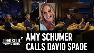 Amy Schumer Calls David Spade on His Celebrity Hotline - Lights Out with David Spade