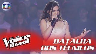 """Vitória canta """"As Canções Que Você Fez Pra Mim"""" na Batalha dos Técnicos – 'The Voice Brasil'"""