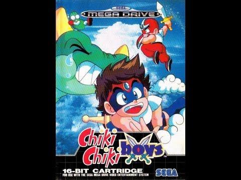 RETROJUEGOS REMEMBER: Chiki Chiki Boys [a.k.a. Mega Twins] (MEGA DRIVE) LONGPLAY COMPLETE