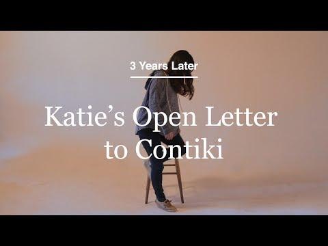 Katie's Open Letter to Contiki