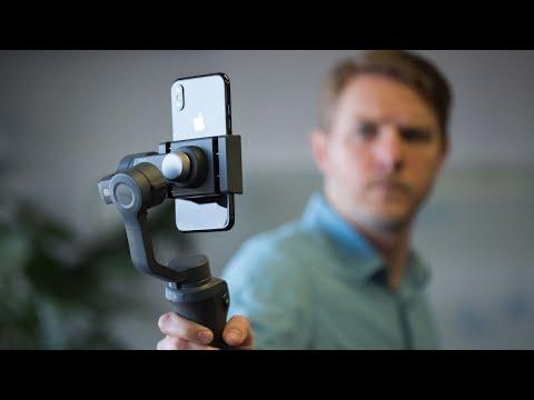 DJI Osmo Mobile 2 hands-on
