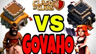 BEST TOWN HALL 8 VS TOWN HALL 9 WAR ATTACK || 3 Stars || Govaho || TH8 VS TH9 || Clash Of Clans 2016