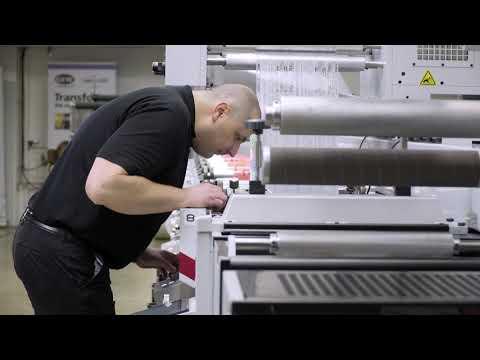 Quick Job Changeover on Mark Andy Evolution Series Flexo Press