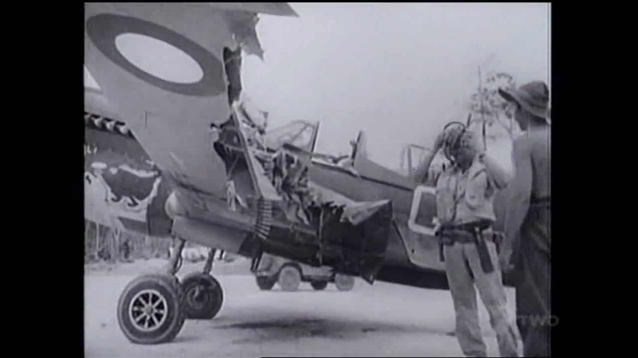 RAAF in the Pacific: Kittyhawk Strafing Mission