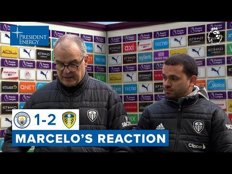"""""""We deserved to win, we made a big effort""""   Marcelo Bielsa reaction   Man City 1-2 Leeds United"""