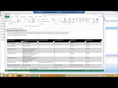 Microsoft Assessment Planning Tool