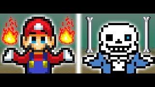 Mario vs Sans