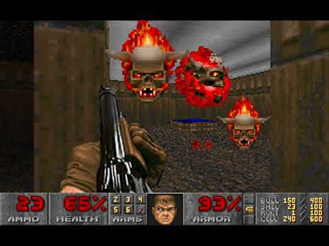 Doom (Episode 2: The Shores of Hell) (id Software) (MS-DOS) [1993] [PC Longplay]