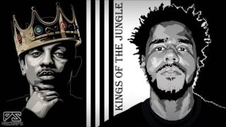 "(FREE) Kendrick Lamar x J Cole Type Beat ""Kings of the Jungle"" | PS Recordz"