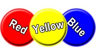 """""""Red Circle, Blue Circle Yellow Circle"""" - Learn Colors for Babies, Toddler Colour Learning Song"""