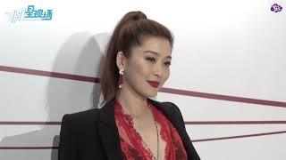 【昨天】梁詠琪亮相品牌活動女神范兒十足 甜蜜坦言最重視婚戒