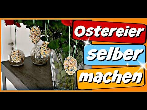 Ostern basteln mit Kindern - Ostereier selber basteln aus Play Foam - 9999 Dinge