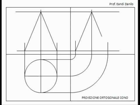 Come eseguire una proiezione ortogonale di un cono viva for Piani a una storia con piano seminterrato