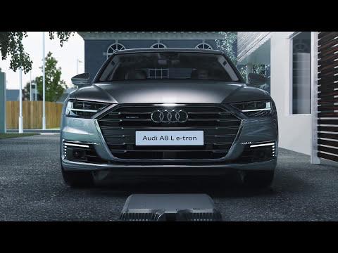 Audi A8 L e-tron - Trådløs opladning