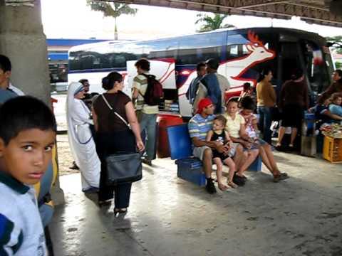 Border of Nicaragua Costa Rica.AVI