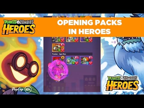 Opening Packs | Plants vs. Zombies Heroes