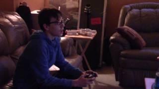Psycho Dad Destroys Xbox Recreation