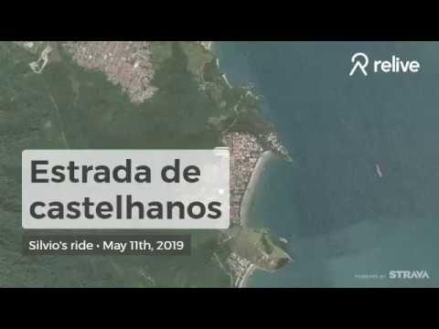 EBike na estrada de Castelhanos