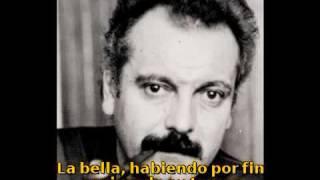 L'ORAGE (La Tormenta) - GEORGES BRASSENS (subtitulado en español)
