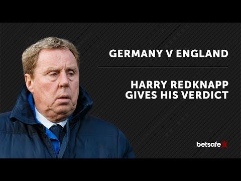 Germany v England Betting Tips Harry Redknapp