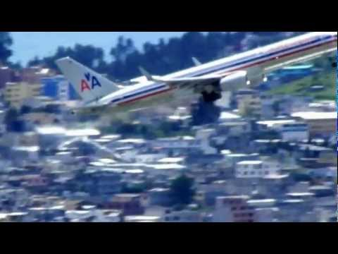 American Airlines Boeing 757-200 TakeOff / Despegue – Quito – RWY 17