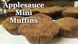 Applesauce Mini Muffins