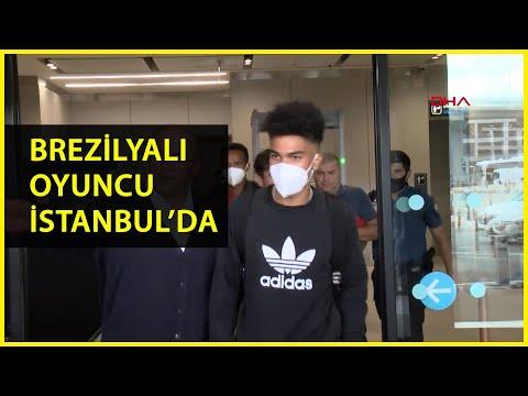 Galatasaray'ın Yeni Transferi Assunçao İstanbul'a Geldi
