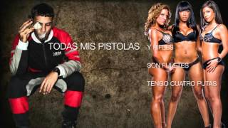 ANUEL - ARMAO 100PRE ANDAMOS (VIDEO LYRICS)