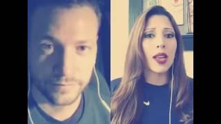 Selena - como la flor ( Cover acústico balada)  Matías Azar - Cristina Flores Smule
