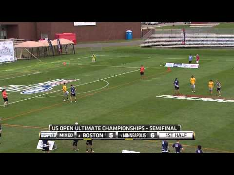 Video Thumbnail: 2014 U.S. Open Club Championships, Mixed Semifinal: Minneapolis Drag'n Thrust vs. Boston Wild Card
