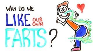 Waarom houden we van onze eigen scheten?