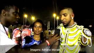 Recordar é Viver - Diego Motta e Sara Araújo, casal ofical  - Leandro de Itaquera 2017