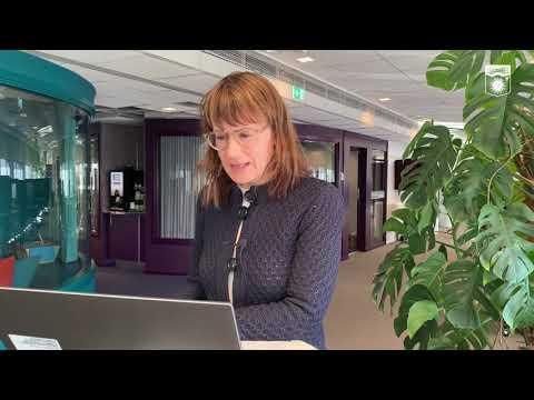 Kristina Sundin Jonsson informerar om det aktuella läget, onsdag 7 april