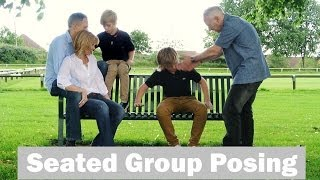 Tips for Group Poses and Family Posing