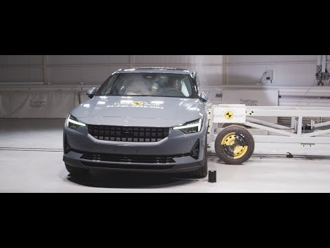 Polestar 2 undergoes passive and active safety testing March 2021