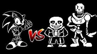 Sonic vs Undertale Part 1
