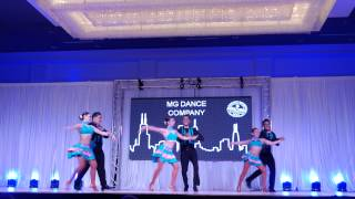 MG Dance Company -2015 Chicago International Salsa Congress 4k