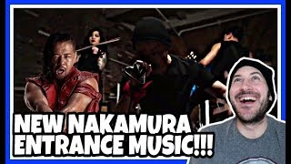 Reaction | NEW SHINSUKE NAKAMURA ENTRANCE THEME MUSIC REVEALED | WWE Smackdown Live