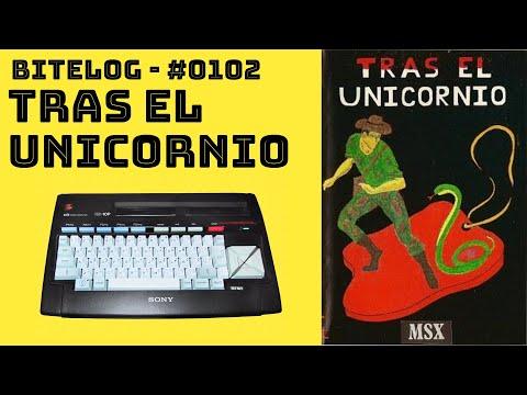 BITeLog 0102: Tras el Unicornio (MSX) LONGPLAY