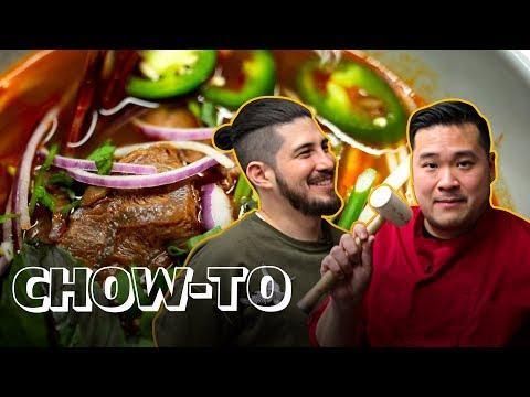 How to Make BUN BO HUE Vietnamese Soup (Move Over Pho!) | CHOW-TO