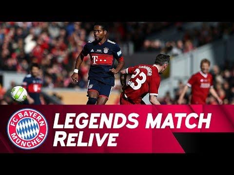 Live Spiel Fc Liverpool Legends Vs Fc Bayern Legends Youtube