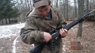 Ruger 10/22 Gatling Gun!