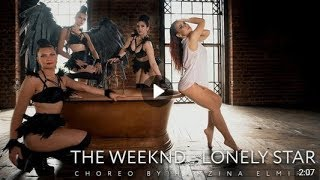 Black dream - Черный сон - танцевальный клип стриппластика Lonely Star The Weeknd